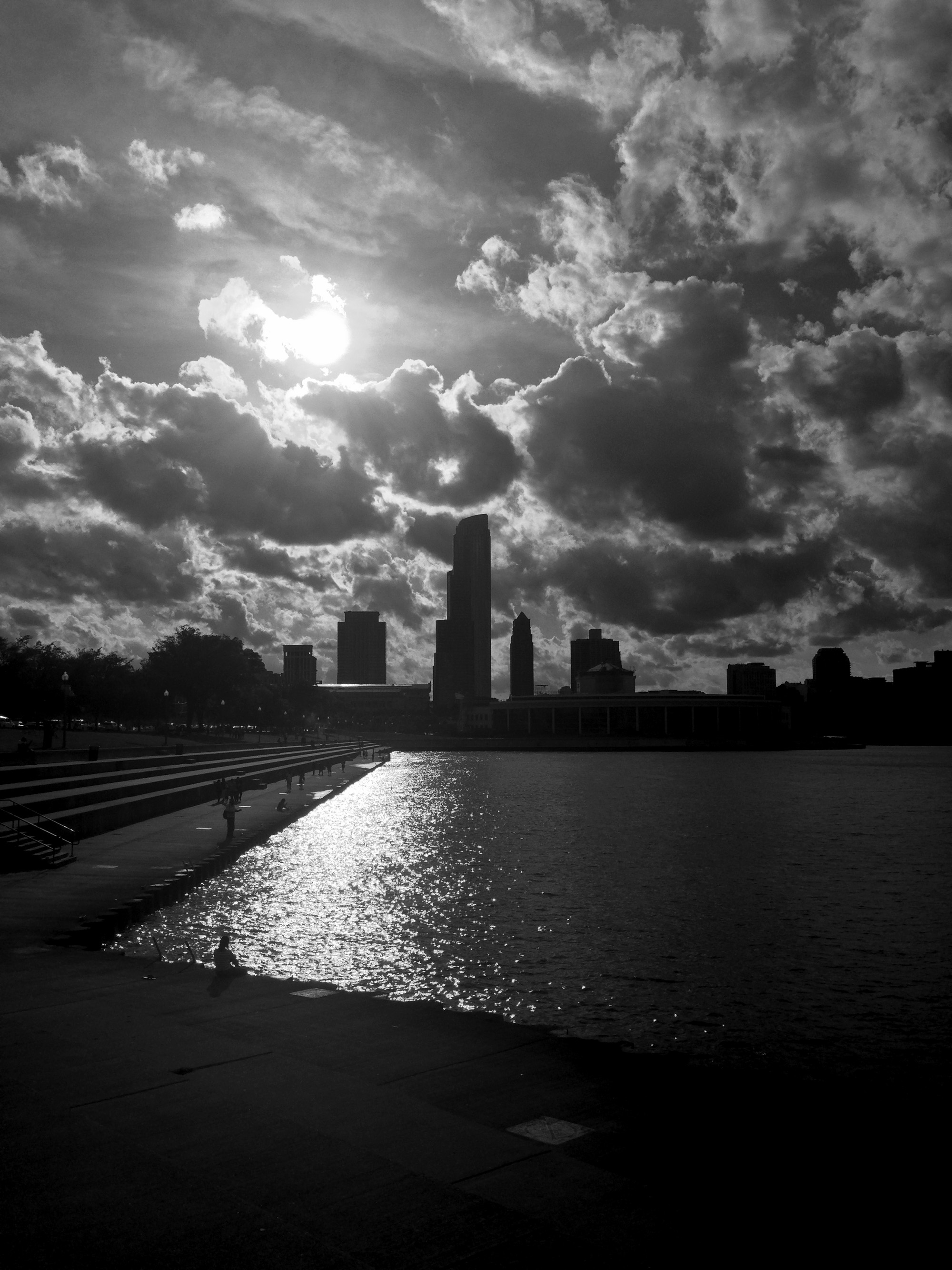 Downtown Chicago, Illinois / Darker than Green