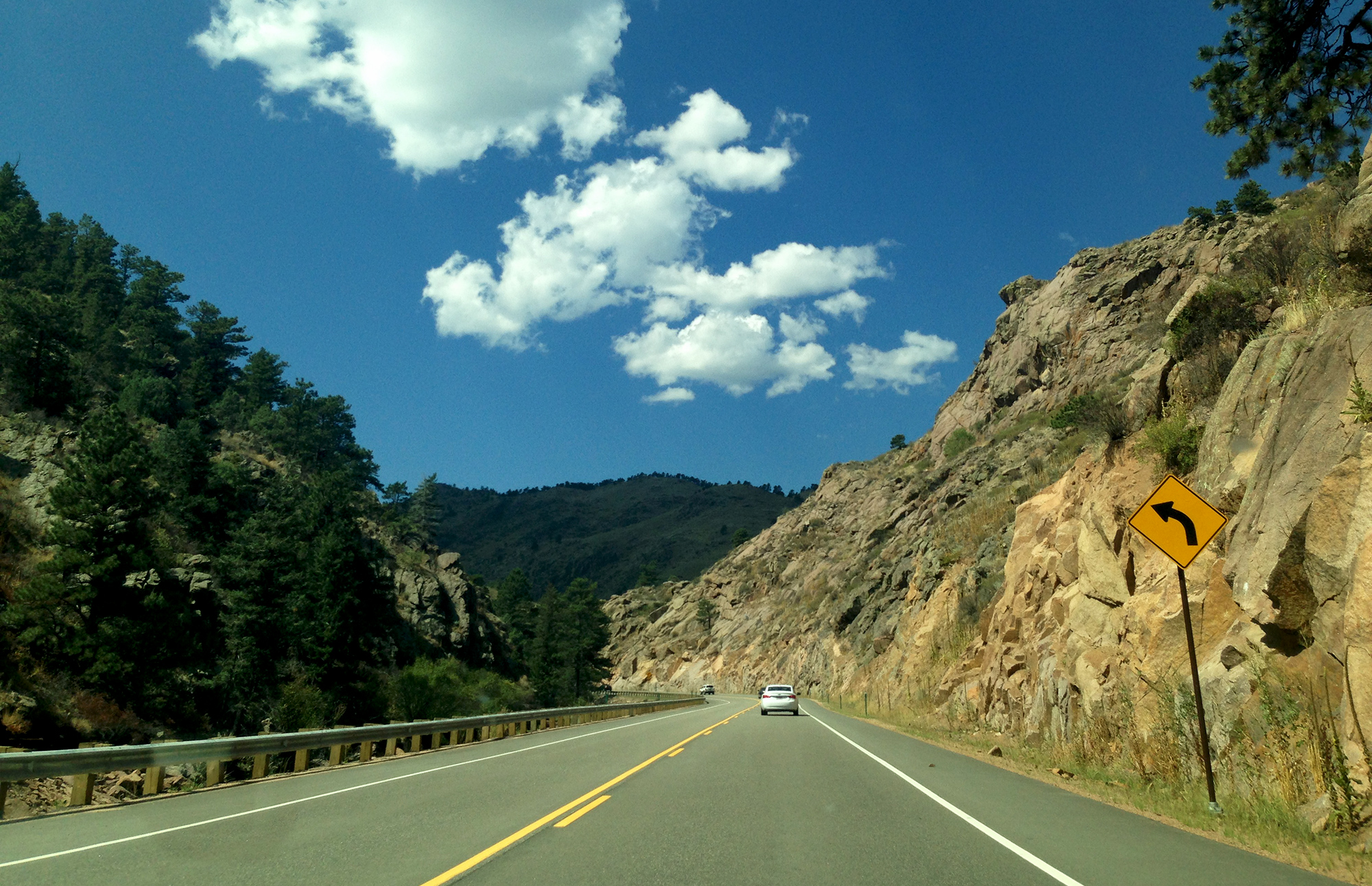 Driving to Rocky Mountain National Park, CO