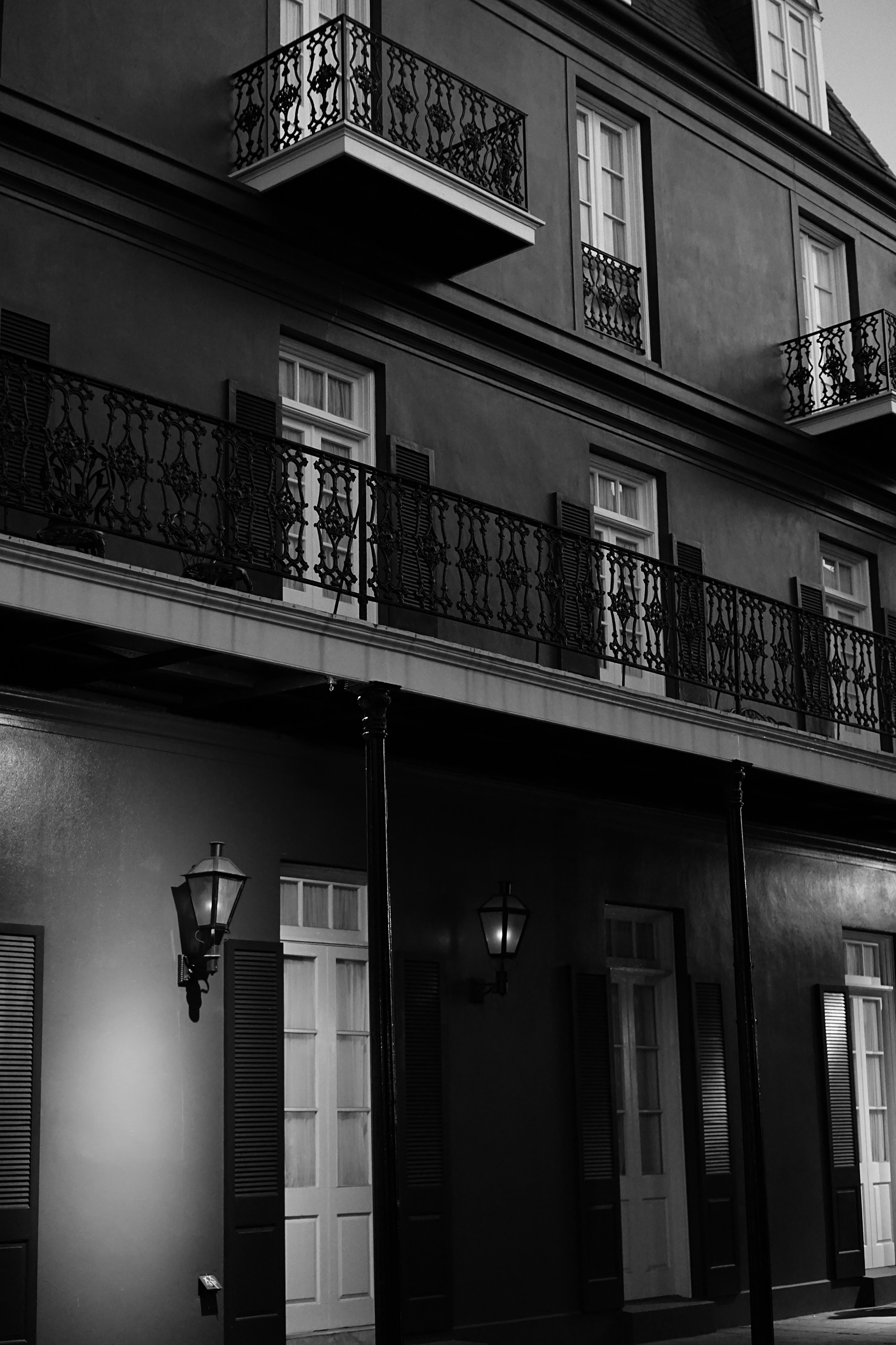 In the French Quarter / Darker than Green