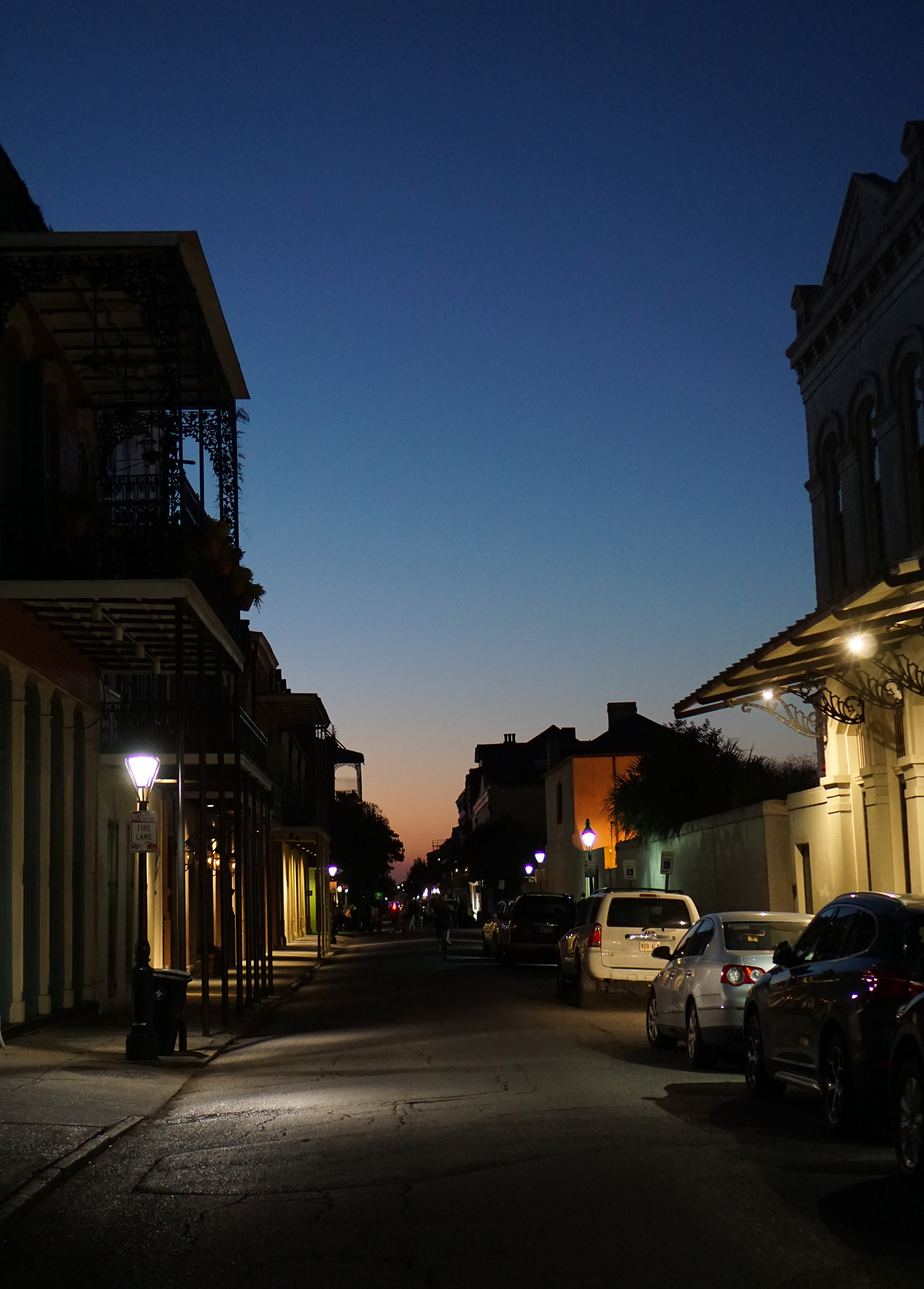 In the French Quarter, New Orleans / Darker than Green